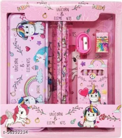 unicorn stationary gift set