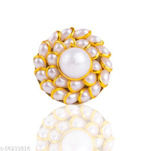 Pachi Beautiful Diwali Ring For Women Free Size Ring