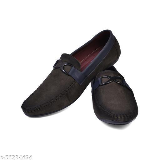 Green Velvet Loafers for men WF194