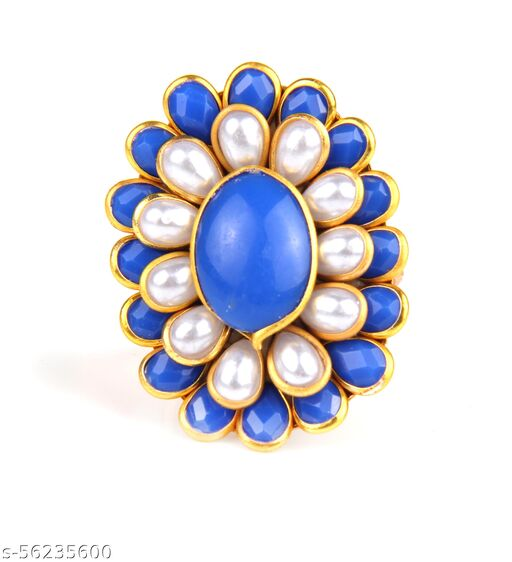 Pachi Ring For Diwali Women and Girl. Unique Design For Julery Traditional Jewellery/Birthday/Anniversary/Party wear/Etc.