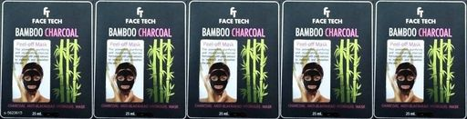 Face Trendy Face Tech Face Mask Combo  *Product Name* Face Tech Bamboo Charcoal Face Pack  *Product Type* Face Pack  *Capacity* 25 ml Each  *Brand* Face Tech  *Multipack* 5  *Sizes Available* Free Size *    Catalog Name: Trendy Face Tech Face Mask Combo CatalogID_842046 C51-SC1241 Code: 002-5623615-