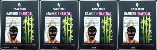 Face Trendy Face Tech Face Mask Combo  *Product Name* Face Tech Bamboo Charcoal Face Pack  *Product Type* Face Pack  *Capacity* 25 ml Each  *Brand* Face Tech  *Multipack* 4  *Sizes Available* Free Size *    Catalog Name: Trendy Face Tech Face Mask Combo CatalogID_842046 C51-SC1241 Code: 781-5623616-
