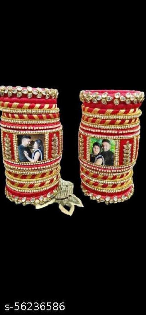silk dori thread bangles set of 12