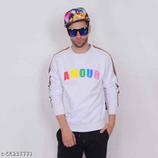 Fidato Stylish Pullover Cotton Sweatshirt for Men