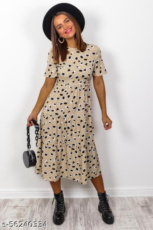 WOMENS PRINTED DRESS