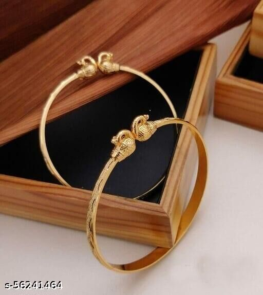 Gold Plated Kangan for Women and  Girl