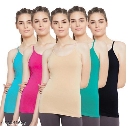 Outflits Women's Ladies Cotton Innerwear Camisole SliP
