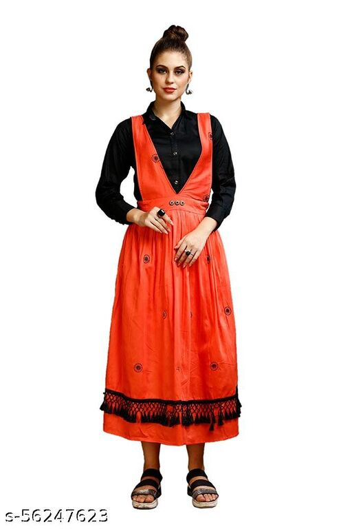 Fancy Dungree or Top Shirt For Women