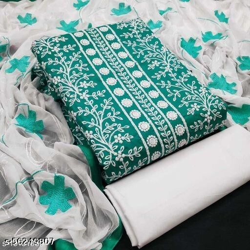 DMsales Women's Printed Unstiched Dress Material cotton dresess