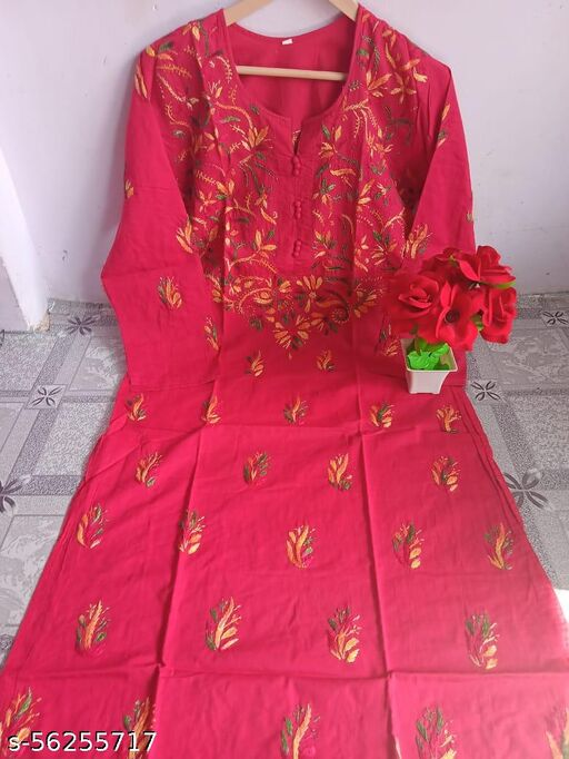 cotton kurti multi work MD &