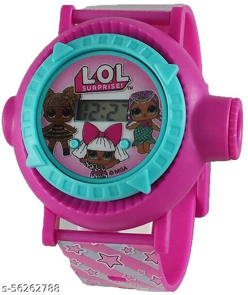 L.O.L. Surprise 24-Images Digital Display Projector Cartoon Watch for Kids Set of - 1