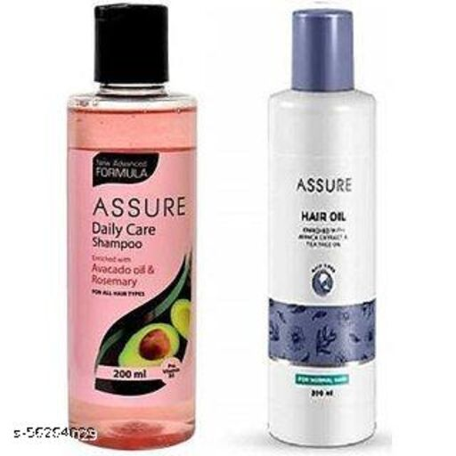 New Assure Hair Oil with Daily Care Shampoo (2 Items in the set)