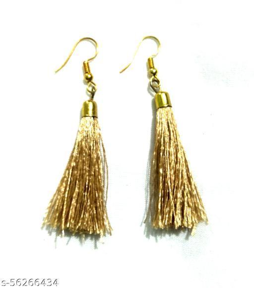 Silk Thread Fashion Earing's