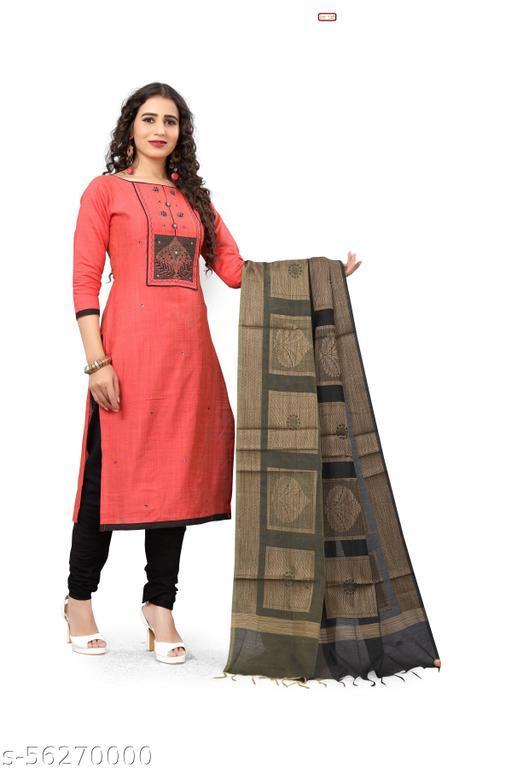 Malar Silks Unstitched Chudithar Material