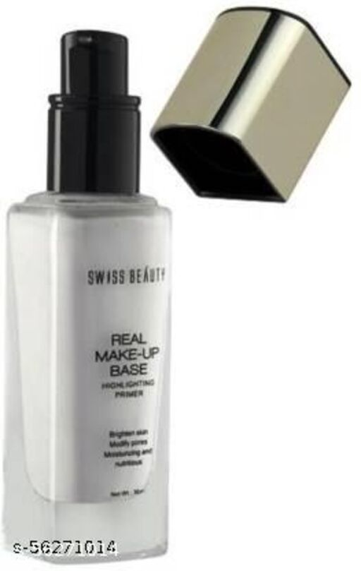 SWISS BEAUTY Real Make-Up Base Highlighting Primer Golden Tint Highlighter  (Golden Tint)