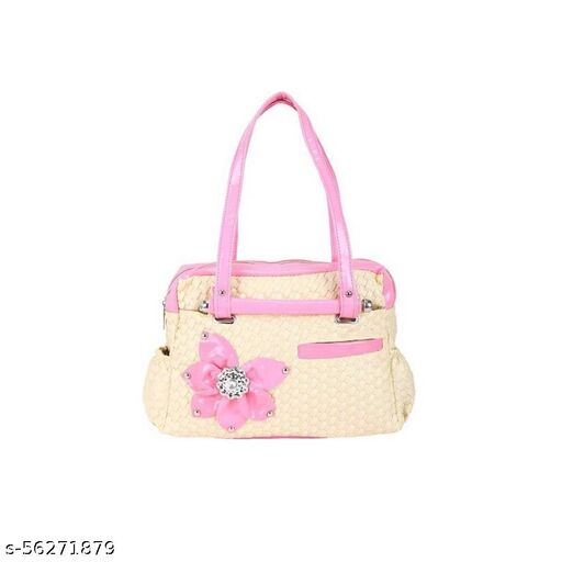 Pink color Trendy and Stylish Handbag for Girls for Teachers / College / Fund / Study / Office use