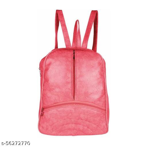 Peech color Trendy and Stylish Handbag for Girls for Teachers / College / Fund / Study / Office use