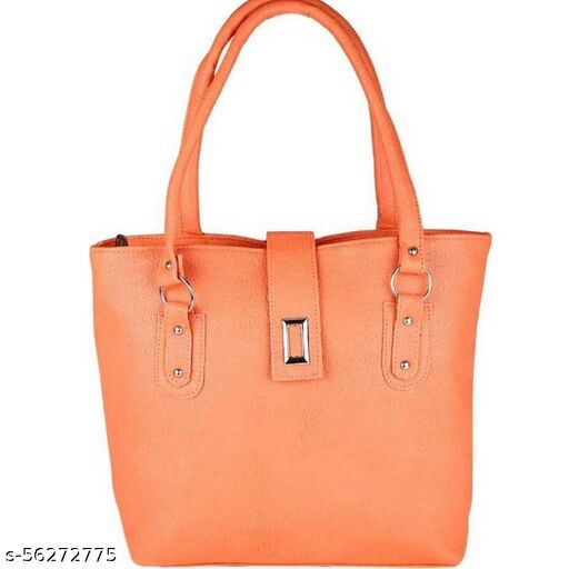 Orange color Trendy and Stylish Handbag for Girls for Teachers / College / Fund / Study / Office use
