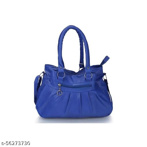 Blue color Trendy and Stylish Handbag for Girls for Teachers / College / Fund / Study / Office use