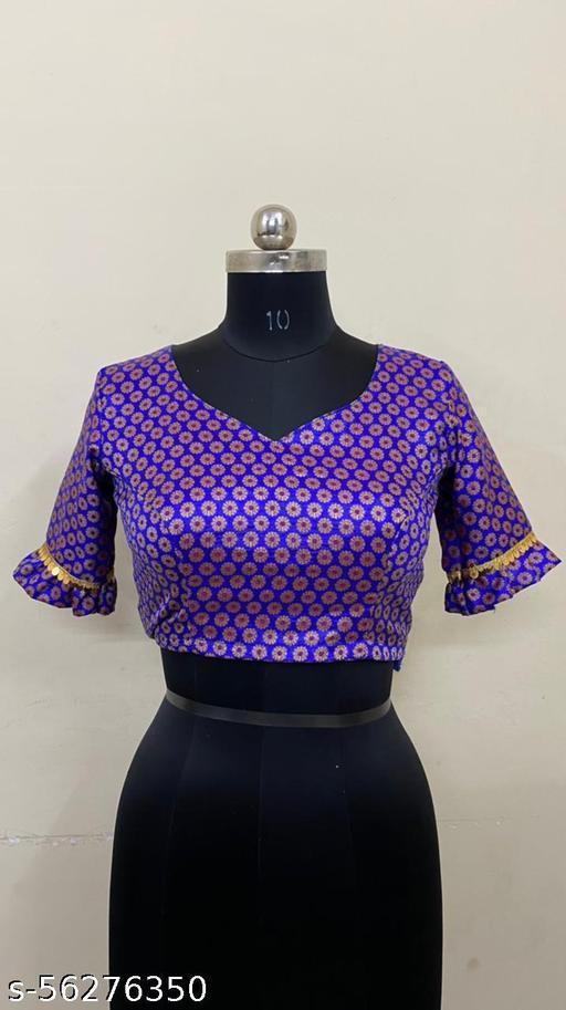 Daybel Banarashi silk satiched blouse