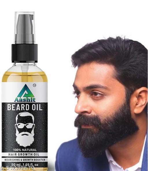 Aashit beard oil for best beard growth oil 50 ml