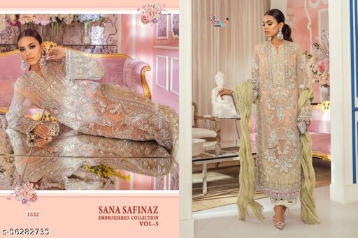 Shree FabS Embroidered Collection Pakistani Concepts