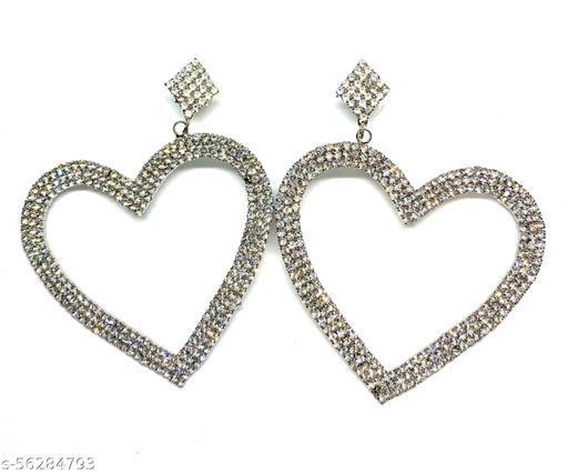 Sparkling Heart earrings
