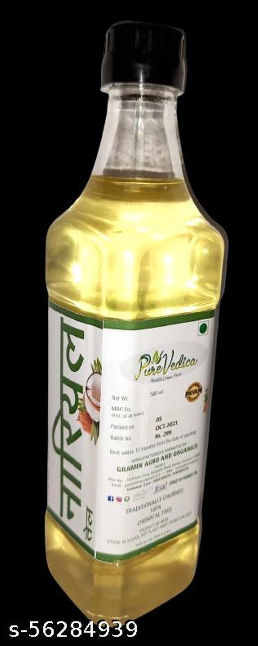 Coconut oil, wood pressed, cold pressed 1000ml