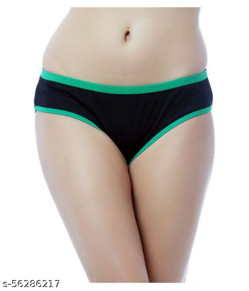 Women's Pattern/Solid Cotton Panty (Pack of 6)
