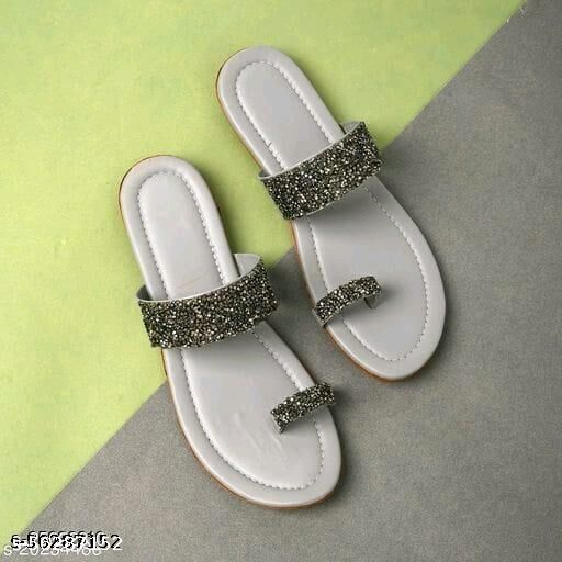 women flat slippers latest design 2021