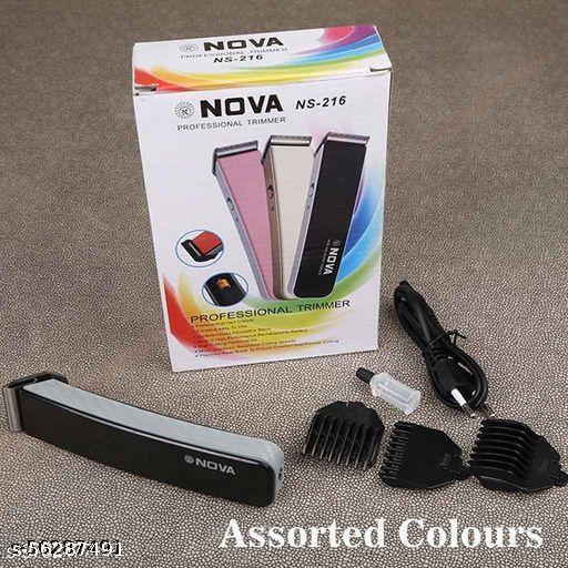 NOVA  Professional NS-216 TM12 Runtime: 35 min Trimmer for Men  (Multicolor)