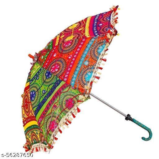 MACRAMEE KRAFTS Decorative Umbrella