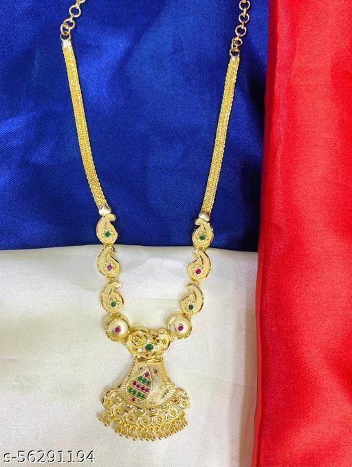 Mogappu pendant floral necklace Haram