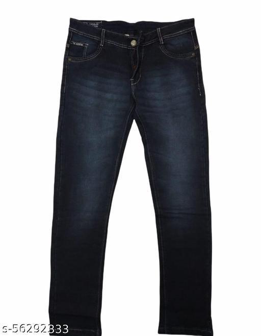 Fancy Unique Men Jeans (Ar Blue)