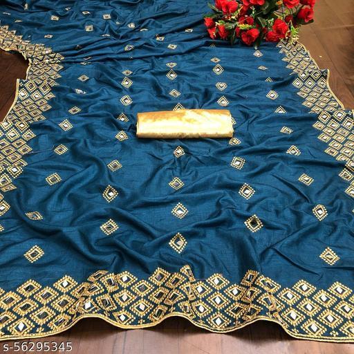Chokhti Mirror Saree