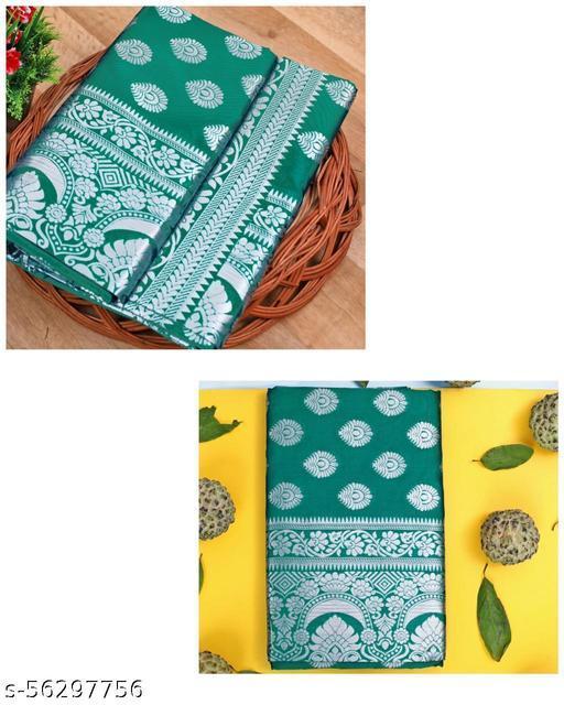 Ladies Designer Soft Banarasi Silk Saree