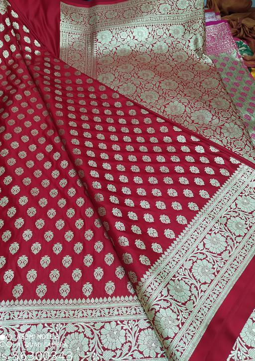 Banarasi semi katan havey saree