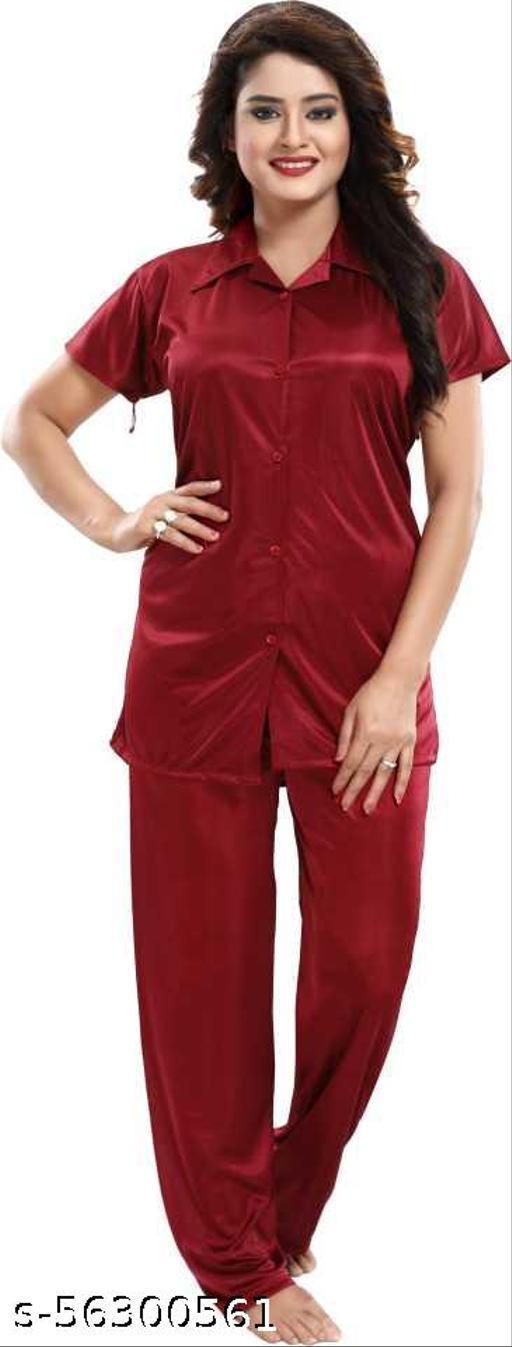 Women's/Girls' Night Suit with Comfortable Payjama