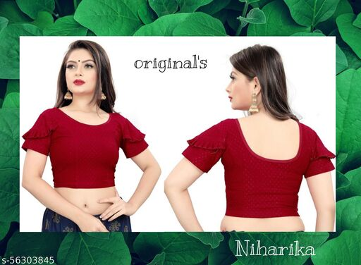 stretchable blouse