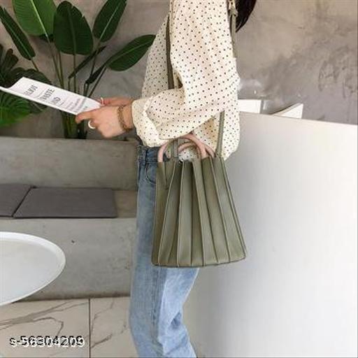 FARMAISHH ROUND WOODEN HANDLE FILDBAG slingbag