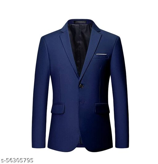 Home Clothing and Accessories Blazers, Waistcoats and Suits Blazers Men's Readymade Blazers TITU Men's Readymade Blazers  TITU Solid Si