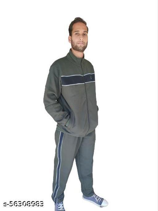 Track Suit Regular fit Super Warm Cotton Fleece Blend  Top Comfort