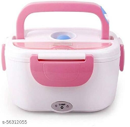 FOOD FUNN Electric Lunch Box (Pink)