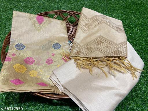 Banarasi Pure Cotton Silk Dupatta