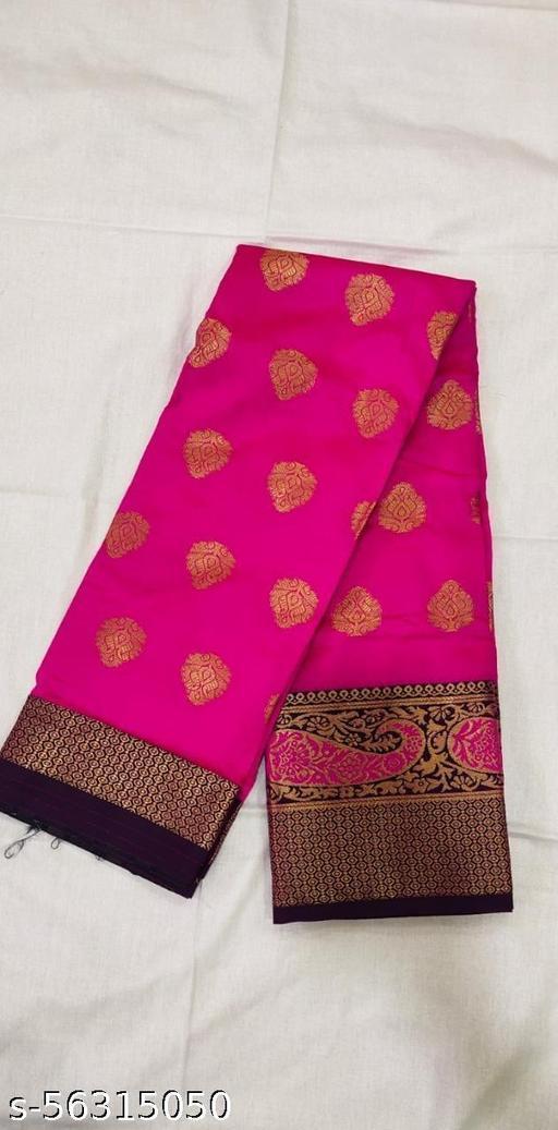 Women's Art Silk Saree With Blouse Piece