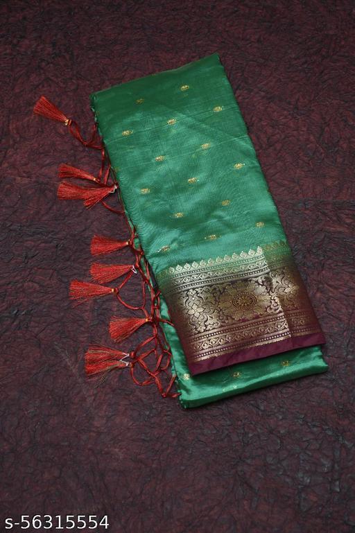 Banarasi Rich Pallu Katan Silk Saree