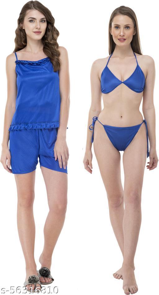Inaaya Fashionable Women Nightsuits (Blue)