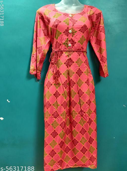 Anni Creations Fashionable Kurti