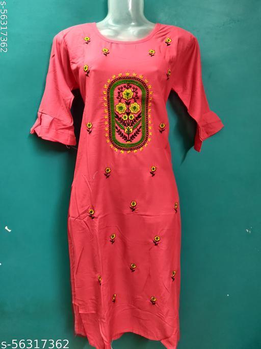 Anni Creations Trendy Daily wear Kurti