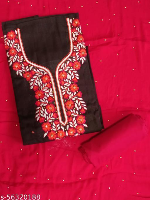 Designer Suit With Dupatta